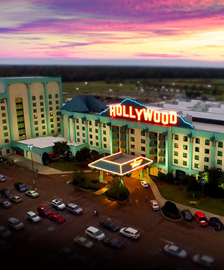 Overhead view of Hollywood Casino Property
