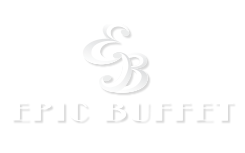 white epic buffet logo