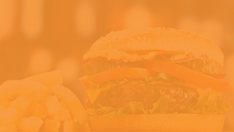orange colored celebrity grill background